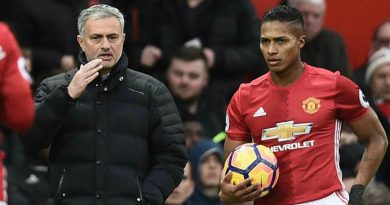 Jose Mourinho criticó a Antonio Valencia y a otros jugadores del Manchester United