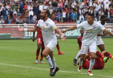 Barcos le dedica la victoria a Jonatan Álvez