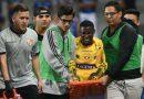 Marcos Caicedo, baja de dos meses en Barcelona SC